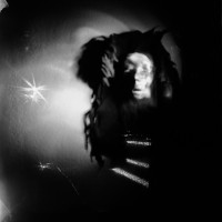 The lomograpics company gave me a little Diana camera. I made this image of a witch doctors face looking down a tunnel of light. It was fun playing with the toy camera.